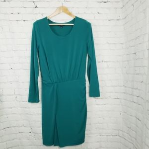 Banana Republic Emerald Green Dress Party Career